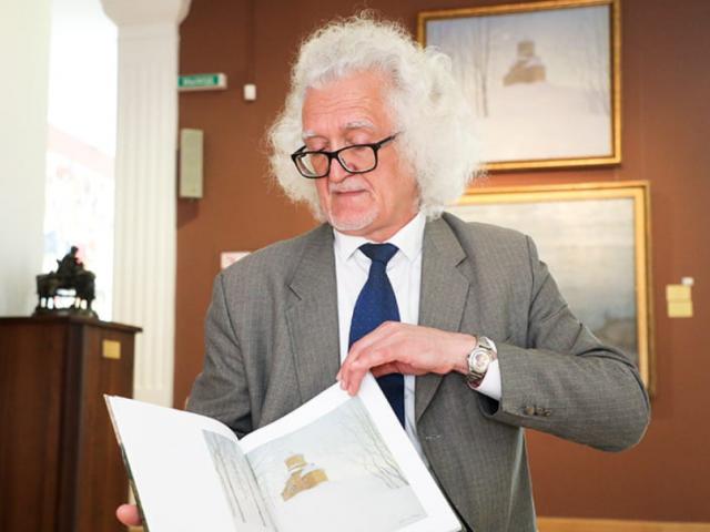 Владимир Прокопцов написал книгу о художнике Бялыницком-Бируле – наиболее объемный альбом работ художника на сегодняшний день