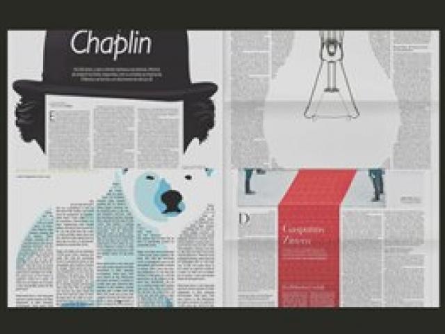 Школа газетного дизайна: художественные иллюстрации